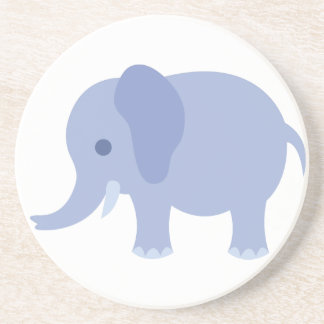 Adorable Blue Baby Elephant Coaster