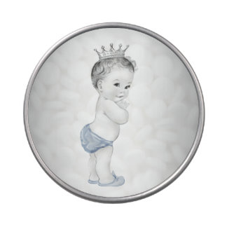 Adorable Blue Prince Baby Shower Candy