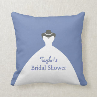 Adorable Bridal Shower Personalized Throw Pillow