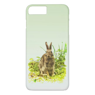 Adorable Brown Bunny Rabbit iPhone 7 Plus Case