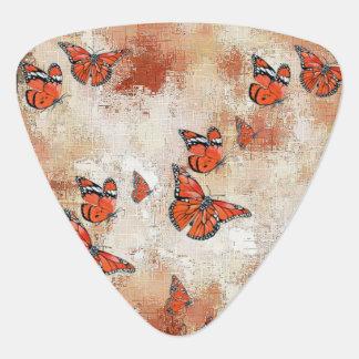 Adorable Butterflies, terra Guitar Pick