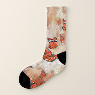 Adorable Butterflies, terra Socks