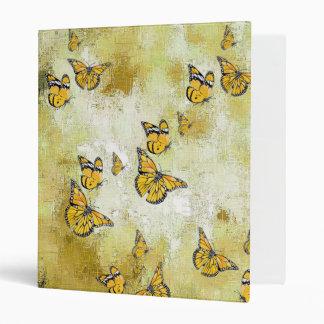 Adorable Butterflies, yellow Binders