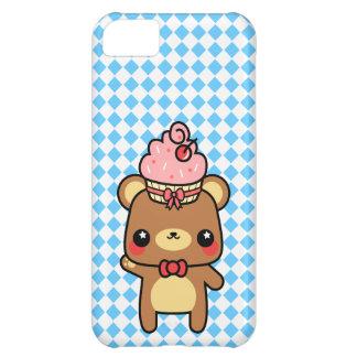Adorable Cartoon Kawaii Bear Cupcake Case