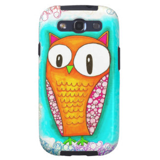 Adorable Cartoon Owl Samsung Galaxy SIII Cases