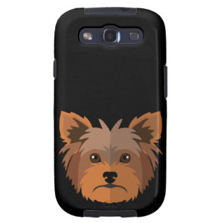 Adorable Cartoon Yorkshire Terrier, Yorkie Samsung Galaxy SIII Cover