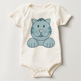 Adorable Cat Baby Bodysuit