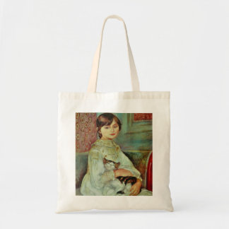 Adorable Cat by Renoir Tote Bag