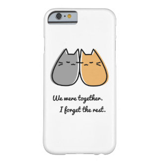 Adorable cat iPhone case