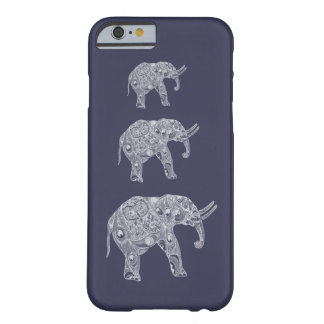 Adorable cheerful cute girly elephant barely there iPhone 6 case
