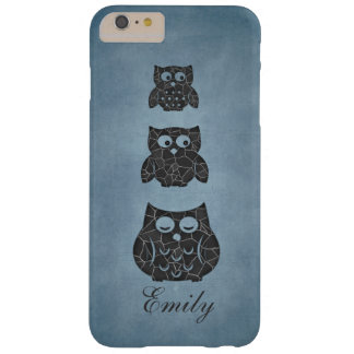 Adorable cheerful cute girly owl barely there iPhone 6 plus case