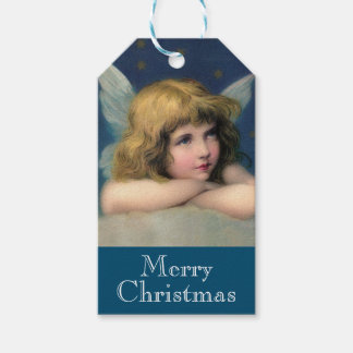 Adorable Christmas Angel Gift Tags