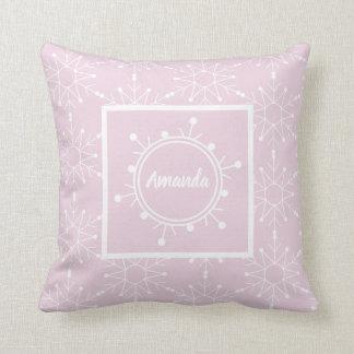 Adorable Christmas edit name pillow