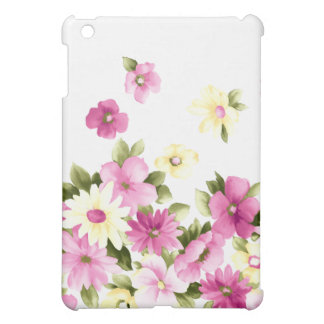 Adorable Colorful Girly Blooming Flowers Case For The iPad Mini