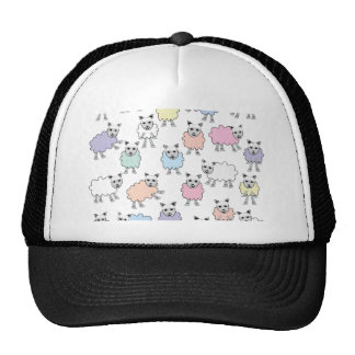 Adorable Colorful Sheep Trucker Hat