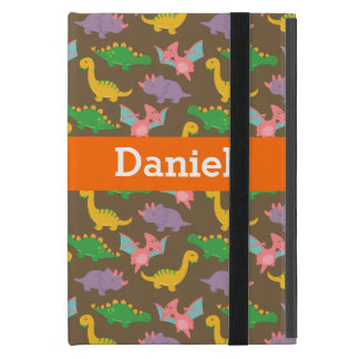 Adorable Colourful Dinosaur Pattern for Kids Case For iPad Mini