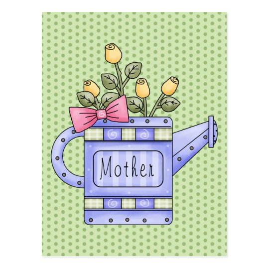 Adorable Country Floral All Occasion Giffs for Mom Postcard