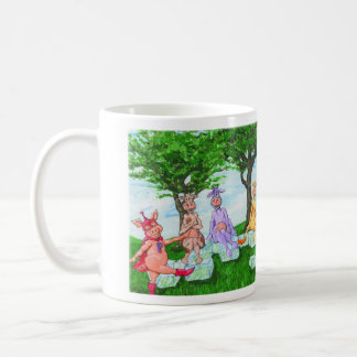 Adorable Cows Sell Milkshakes Mug