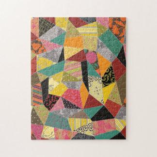 Adorable Crazy Quilt Jigsaw Puzzle