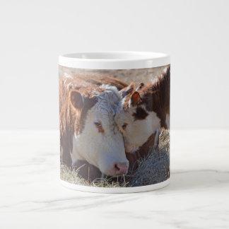 Adorable Cuddly Cows Large Coffee Mug