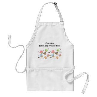 Adorable Cupcakes with Saying Standard Apron