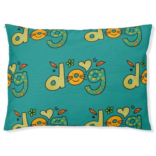 Adorable Custom Dog Bed