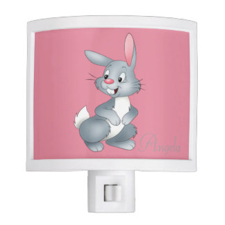 Adorable Cute Baby Bunny -Personalized Night Lites