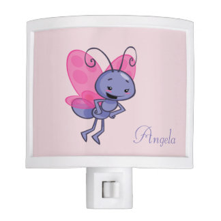 Adorable Cute  Cartoon Baby Bee -Personalized Nite Lights