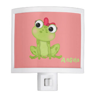 Adorable Cute  Cartoon Baby  Froggy-Personalized Night Lights