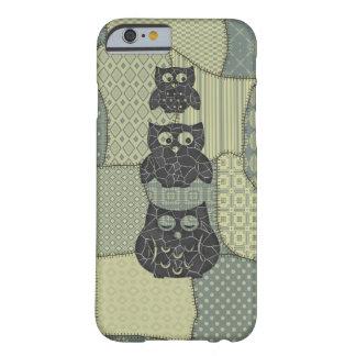 Adorable cute cheerful colorful girly owl barely there iPhone 6 case