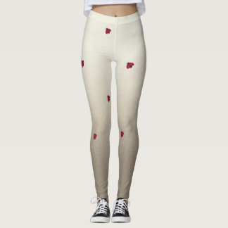 Adorable Cute ,Ladybug,Luminous-Personalized Leggings