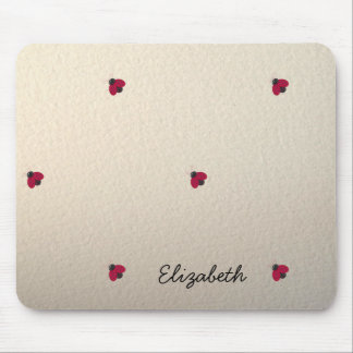 Adorable Cute,Ladybug ,Luminous-Personalized Mouse Pad
