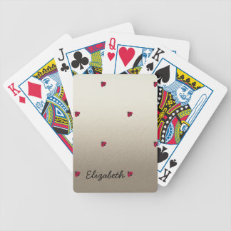 Adorable Cute ,Ladybugs,Luminous-Personalized Bicycle Playing Cards