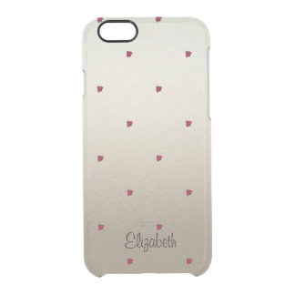 Adorable Cute ,Ladybugs,Luminous-Personalized Clear iPhone 6/6S Case