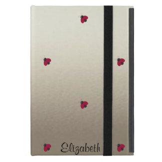 Adorable Cute ,Ladybugs,Luminous-Personalized iPad Mini Cover