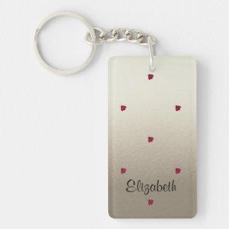 Adorable Cute ,Ladybugs,Luminous-Personalized Keychain