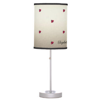 Adorable Cute ,Ladybugs,Luminous-Personalized Table Lamp