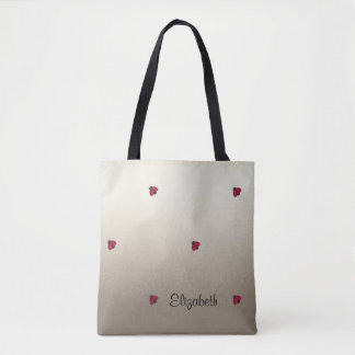 Adorable Cute ,Ladybugs,Luminous-Personalized Tote Bag