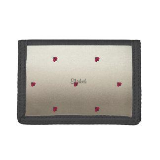 Adorable Cute ,Ladybugs,Luminous-Personalized Tri-fold Wallet