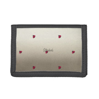 Adorable Cute ,Ladybugs,Luminous-Personalized Trifold Wallets
