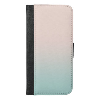 Adorable Cute  Modern Girly Feathers iPhone 6/6s Plus Wallet Case