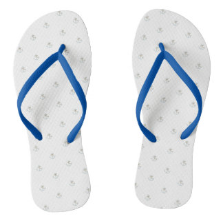 Adorable Cute Nautical Anchor Flip Flops
