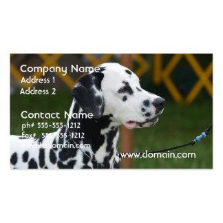 Adorable Dalmatian Business Cards