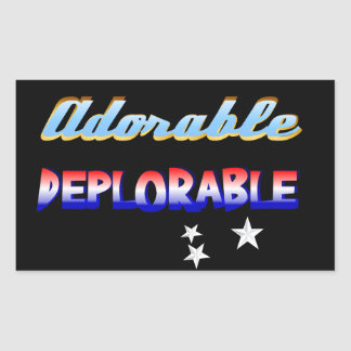 Adorable DEPLORABLES Sticker