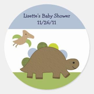Adorable Dino/Dinosaur Stickers/Envelope Seals