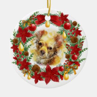 Adorable Dog Christmas Ornament