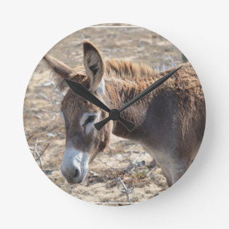 Adorable Donkey Wall Clock