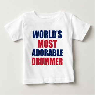 Adorable Drummer Baby T-Shirt