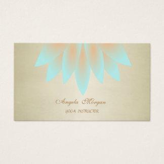 Adorable Elegant Chic Lotus Flower Business Card