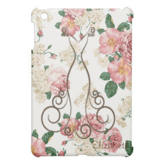 Adorable Elegant Dress,Floral Pattern-Personalized iPad Mini Case